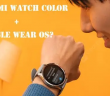 Pracují chytré hodinky Xiaomi Mi Watch Color na operačním systému Google WearOS?